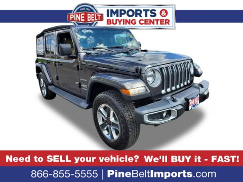 Pre-Owned 2018 Jeep Wrangler Unlimited Sahara 4X4 Wagon 4 Dr.