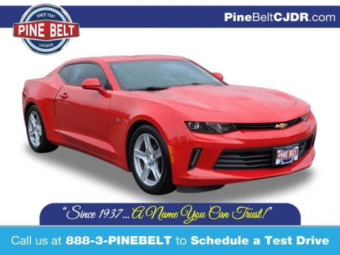 Pre-Owned 2017 Chevrolet Camaro 1LT RWD Coupe