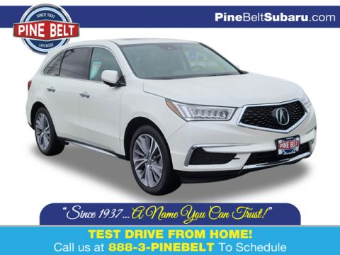 Pre-Owned 2018 Acura MDX w/Technology Pkg AWD SUV