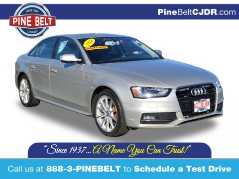 Pre-Owned 2014 Audi A4 2.0T Premium Plus quattro Sedan